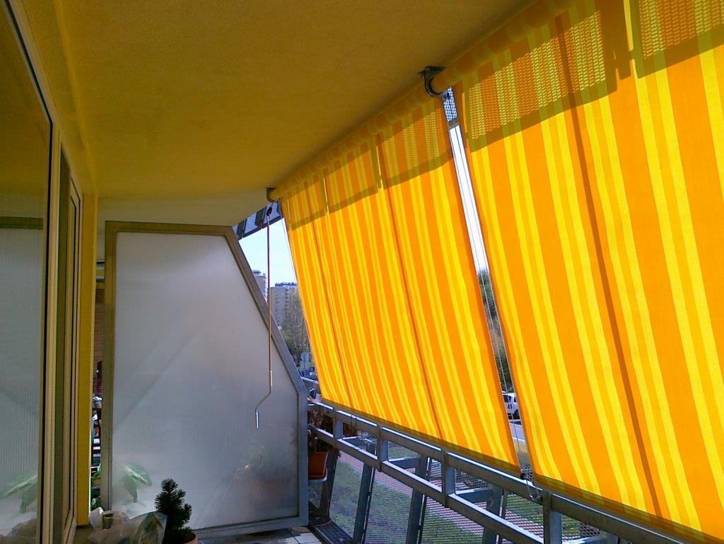 Balkonové markýzy