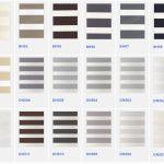 Další možnosti barev rolety Den Noc - vzorníky k nahlédnutí v našem showroomu v Pardubicích